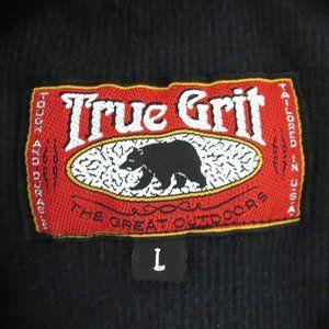 True Grit Shirts - Vtg True Grit Large Relaxed Fit Corduroy L/S Shirt